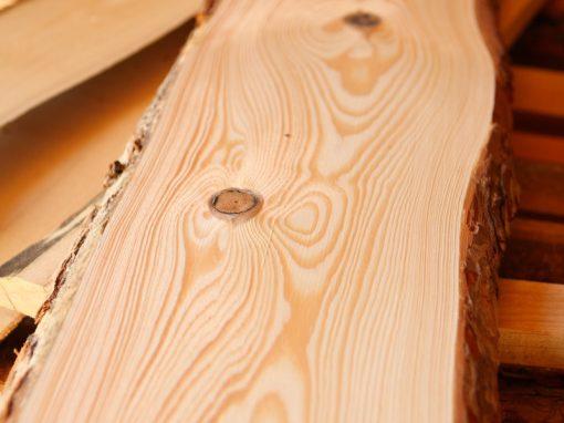sušené rezivo z borovice
