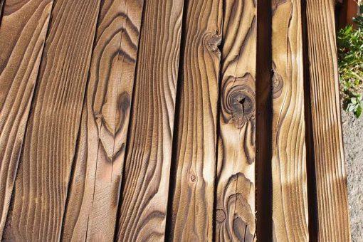 opaľované drevo